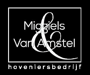 Hoveniersbedrijf Miggiels – Van Amstel Logo