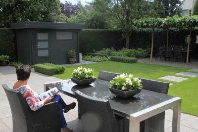 Onderhoudsvriendelijke Tuin Aanleggen : Tuinvoorbeelden u hoveniersbedrijf miggiels u van amstel